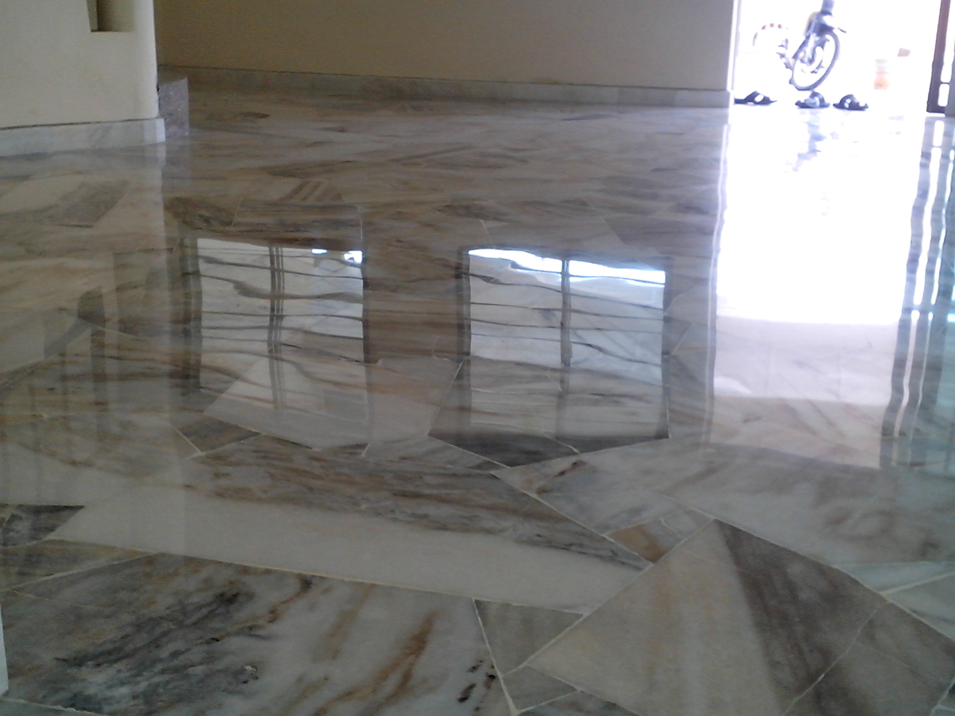 Marble floor restoration done properly simply floor care why choose us dailygadgetfo Images
